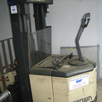 Used Equipment - Crown Walkie Stacker