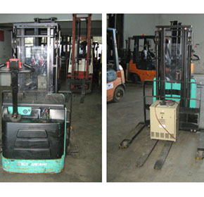 Used Equipment - Walkie Stackers