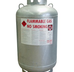 Decanting Cylinder - 210 Kg Propane LP Gas Cylinder (Liquid Withdrawal)