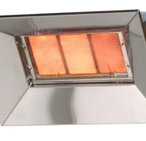 Stand Heaters - Heat-Flo 3 Tile