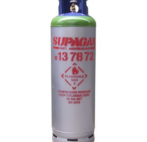 45 Kg Propane LP Gas Decanting Cylinder (Liquid Withdrawal)