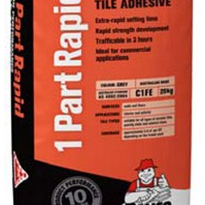 1 Part Rapid Tile Adhesive