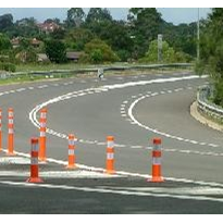 Reboundable Lane Divider