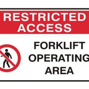 Safety Signs - Restricted Access Signs