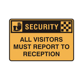 Safety Signs - Security Signs