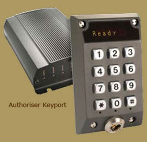 Authoriser Keyports
