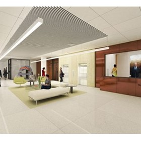 3D Concept Rendering - College of Law
