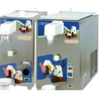 Automatic whipped cream machines of various sizes.