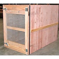 Custom Crating for Air & Sea Transport of Animals