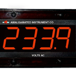 LD4-AV True RMS AC Voltage Large Digit Display