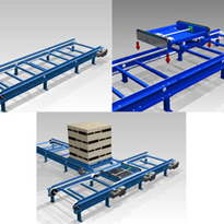 Modular Conveying Solutions from Optimum Handling Solutions
