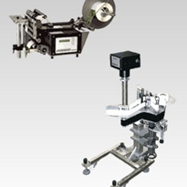 Free-Standing, Semi-Automatic & Bench-Top Label Applicator