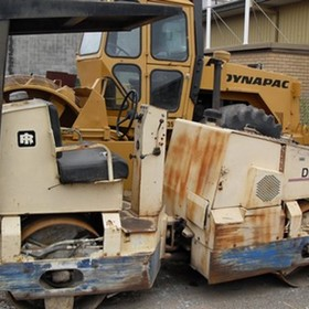 Compactor - Ingersoll Rand DD35
