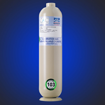 103DS - 103 Litre Steel Non-Refillable Cylinder