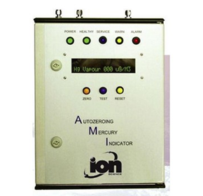 Autozeroing Mercury Vapour Indicator  for Continuous Monitoring