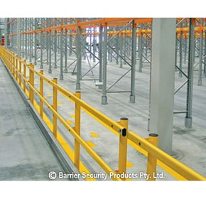 Channel Rail Protection Barrier
