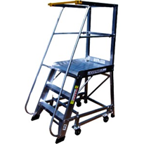 Order pickers & Safety Ladders - 14' Deluxe Order Picker