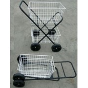 Folding Shopping / Laundry Trolley (Heavy Duty)