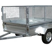 Trolley Hire - Trailer With Cage