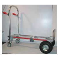 Folding Hand Trolleys - Convertible Aluminium Handtrucks