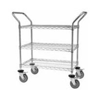 Wiremesh Trolleys & Storage Systems