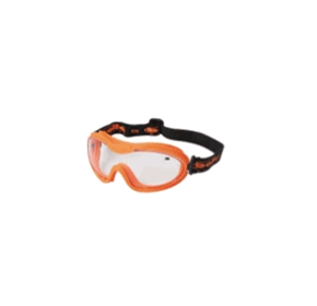 Safety Glasses - Goggle - Nitro Style Range - Goggle - Nitro Orange TPV Frame / Clear Lens