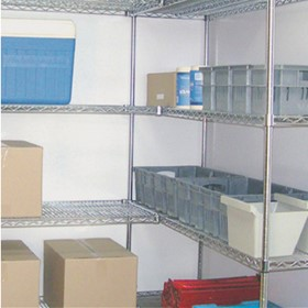 Modular Wire Shelving