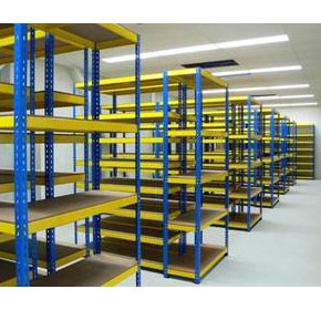Shelving Systems | Solid Hard Wearing - Rigi Rack