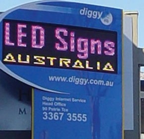 LED Displays / Outdoor Numeric Displays