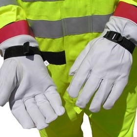 Barrier Outer Gloves - Leather