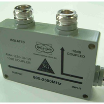 800-2500 MHz 4 Port Directional Coupler