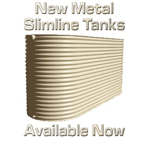 Above Ground Water Storage Tanks | Metal Slimline