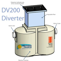 First Flush Diverter - Large | DV200