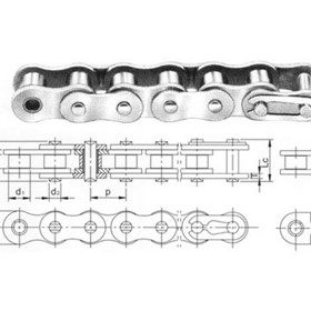 American & British Standard Stainless Steel Roller Chain