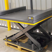 Optimum Handling Solutions Scissor Lifts For Electrical Cabinet Manufacturing