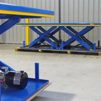 Optimum Handling Solutions Scissor Lifts for Mine Maintenance