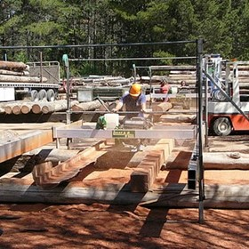 Timber Slabs - Slab Milling