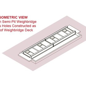 Single Clear-Space Semi-Pit Weighbridges