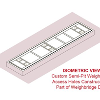 Custom Semi-Pit Weighbridges