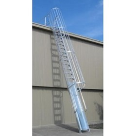 Safety Ladders | Caged Access Ladder
