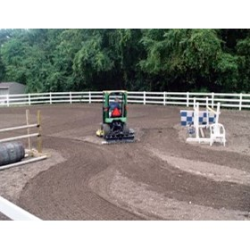 Equestrian Centre - Rubber Mulch Maintenance