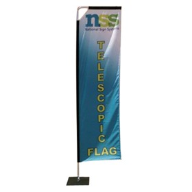 Telescopic Flag