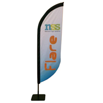 Banner Displays | Flare Flag