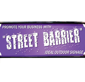 Rope Edge Banner | Street Barrier