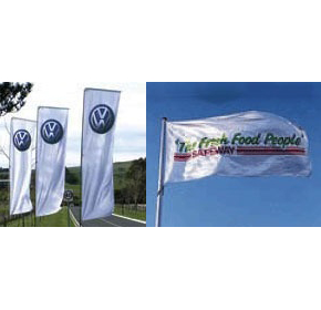 Custom Printed Flags | Corporate Flags