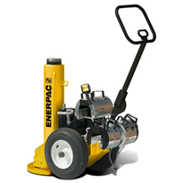 Enerpac POW'R-RISER® Self-Contained Mobile Jack