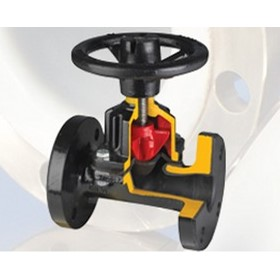 Control Valve - Straight Through Type Diaphragm Valves