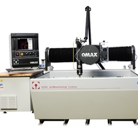 See the Omax Waterjet in action