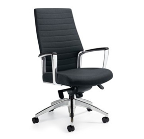 Leather Executive Chairs - Accord High Back