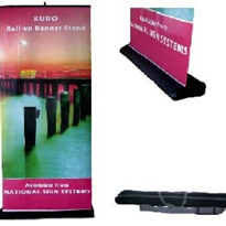 Retractable Banner Stands - Euro Roll-Ups
